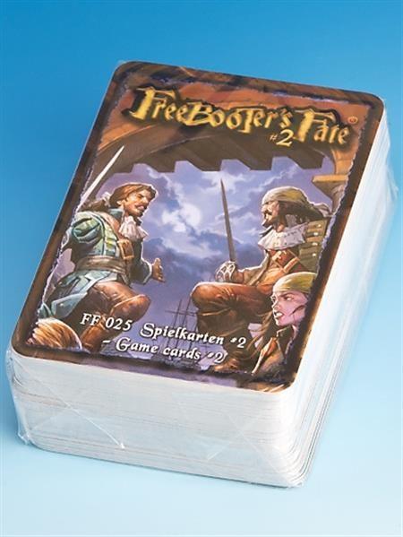FREEBOOTERS FATE 2ND: Spielkarten 2 - DE