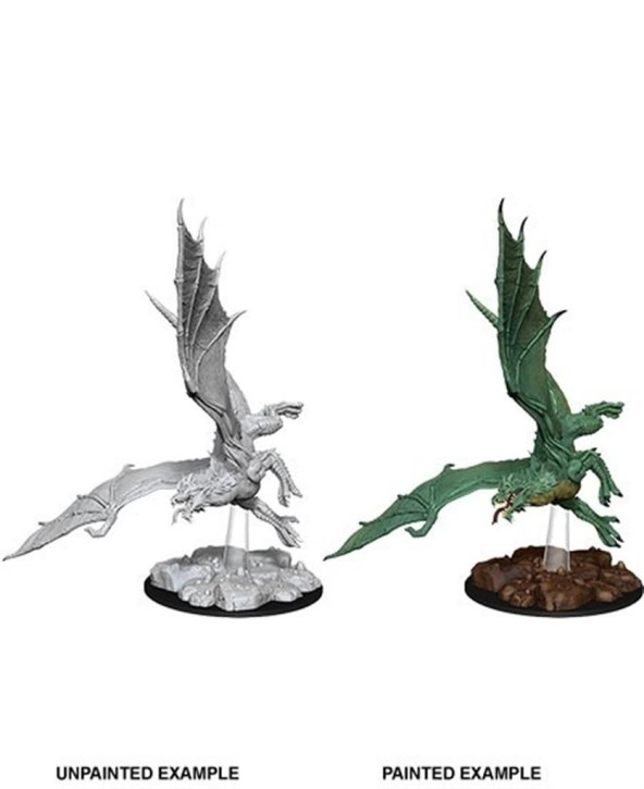 D&D MARVELOUS MINIS: Young Green Dragon