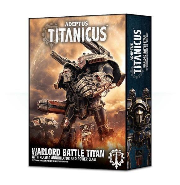 W40K: ADEPTUS TITANICUS: Warlord Titan w. Plasma Annihilator
