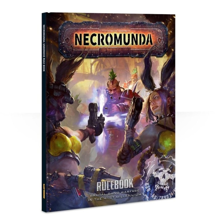 NECROMUNDA: Rulebook - EN