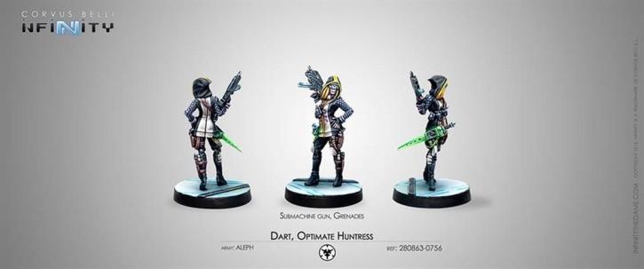 INFINITY: Dart, Optimate Huntress (Submachine)