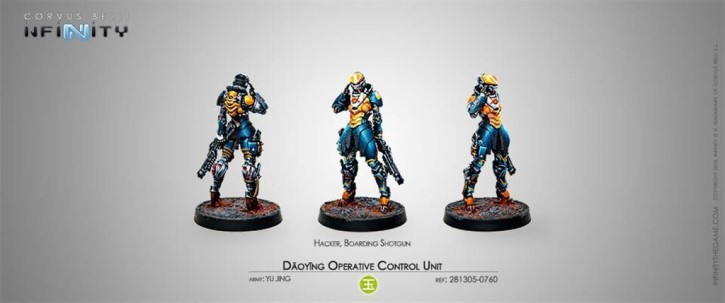 INFINITY: Daoying Operative Control Unit (Hacker)