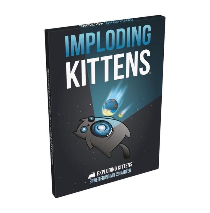 EXPLODING KITTENS: Imploding Kittens - DE