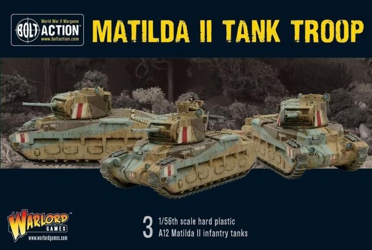 BOLT ACTION: Matilda II Troop