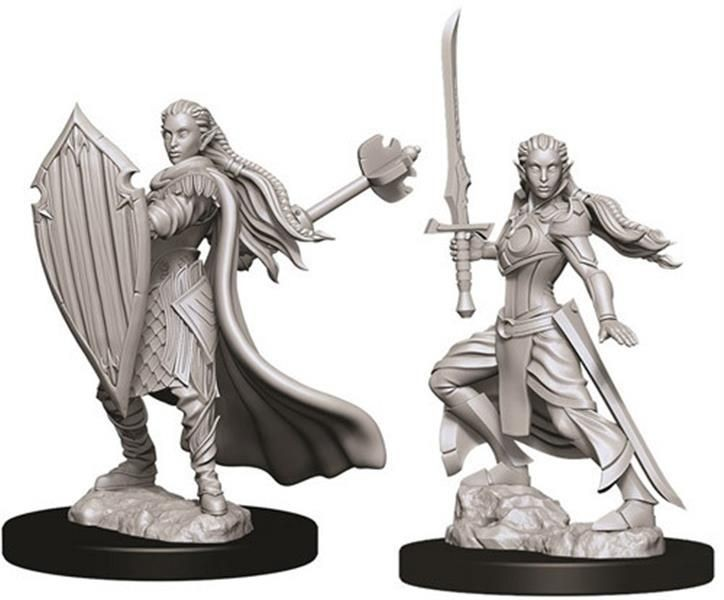 D&D MARVELOUS MINIS: Female Elf Paladin