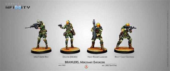 INFINITY: Brawlers, Mercenary Enforcers