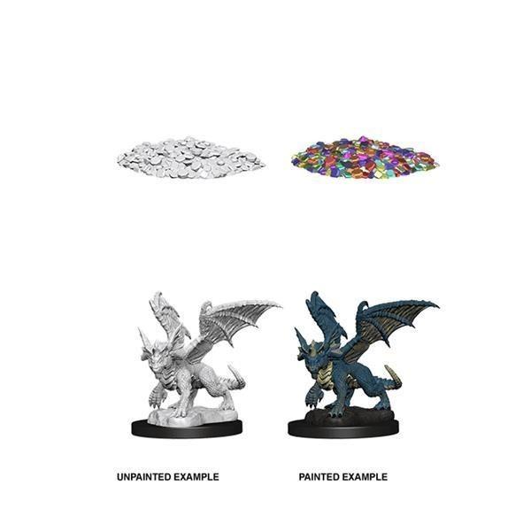 D&D MARVELOUS MINIS: Blue Dragon Wyrmling