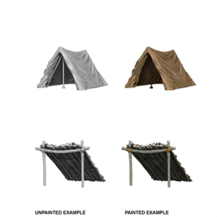 WIZKIDS DEEP CUTS MINIS: Tent & Lean-To