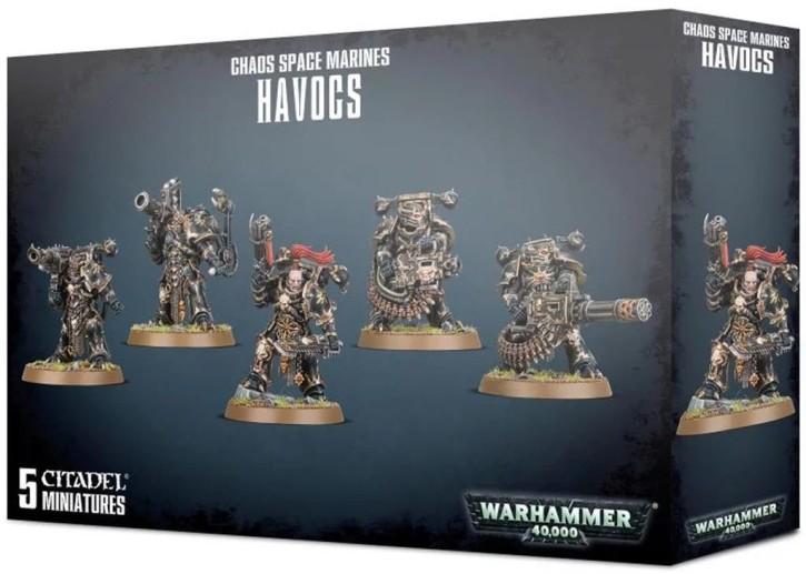 W40K: Chaos Space Marines Havocs