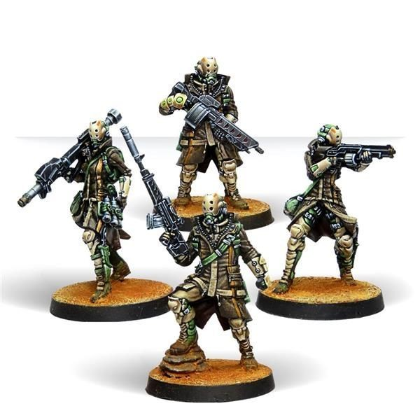 INFINITY: Zhayedan Intervention Troops