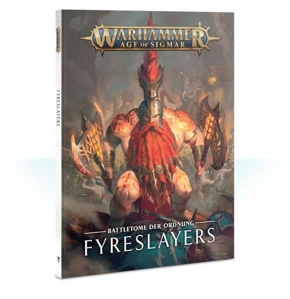 AOS: Battletome: Fyreslayers (SB) - DE
