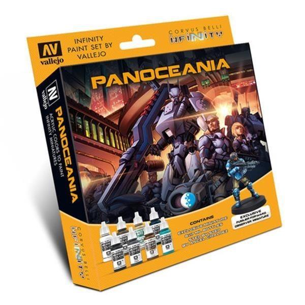 INFINITY: Model Color Set: Panoceania Exclusive Miniature