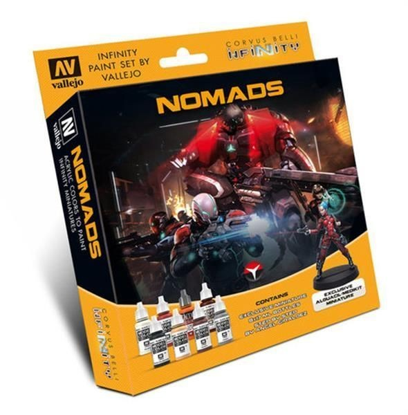 INFINITY: Model Color Set: Nomads Exclusive Miniature