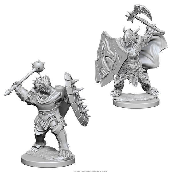 D&D MARVELOUS MINIS: Dragonborn Male Paladin
