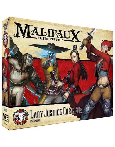 MALIFAUX 3RD: Marshal Crew Lady Justice