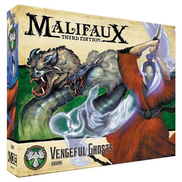 MALIFAUX 3RD: Vengeful Ghosts