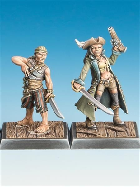 FREEBOOTERS FATE 2ND: Piratin & Cuchillo