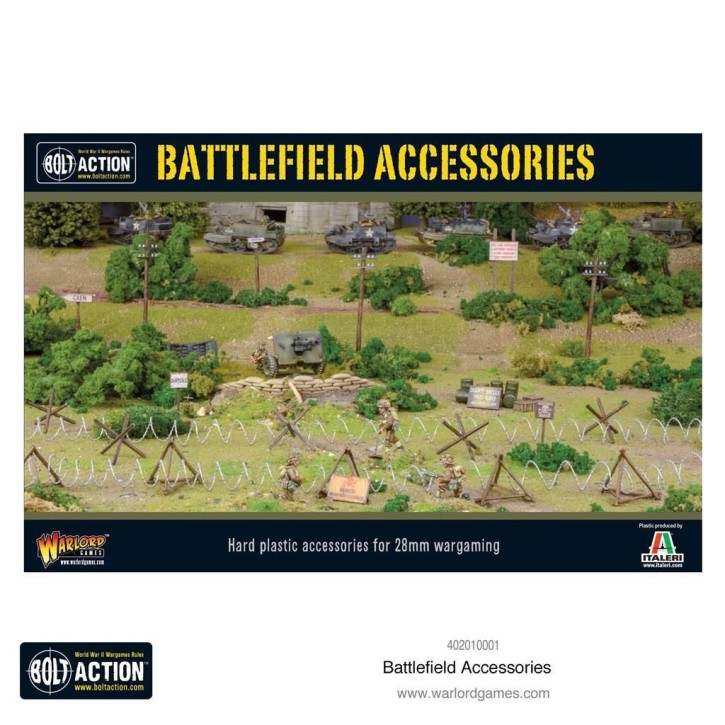 BOLT ACTION: Battlefield Accessories