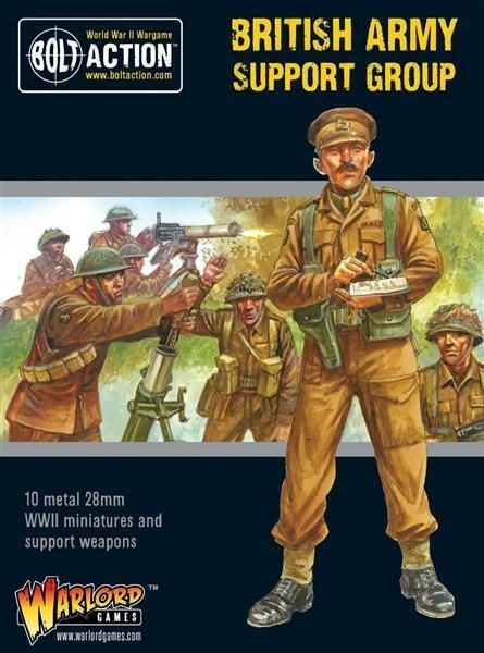 BOLT ACTION: British Army Support Group