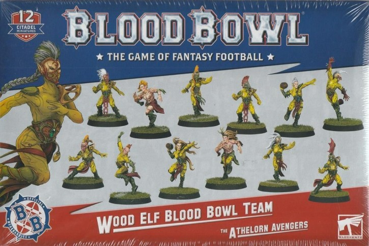 BLOOD BOWL: Wood Elf Team