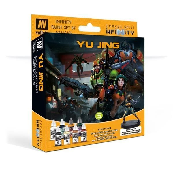 INFINITY: Model Color Set: Yu Jing Exclusive Miniature