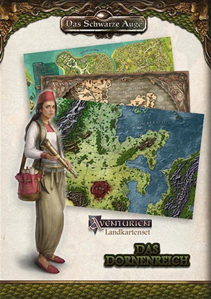 DSA: Landkartenset Das Dornenreich - DE