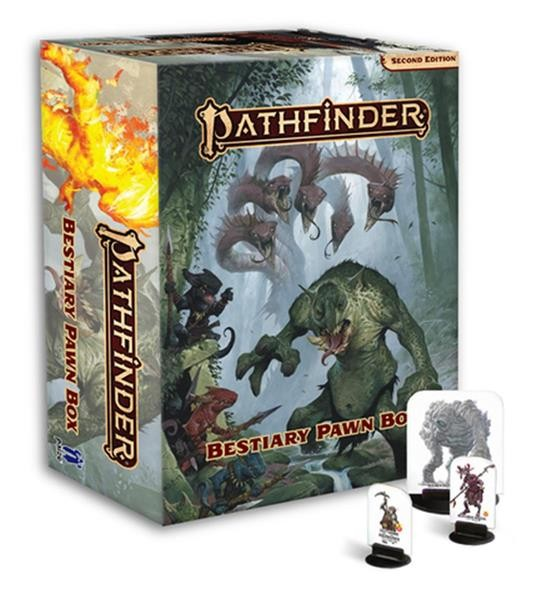 PATHFINDER 2ND: Bestiary Pawn Box - EN
