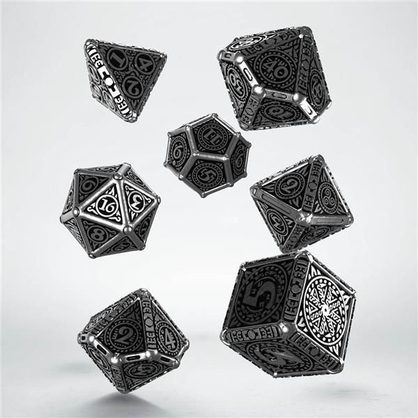 Q-WORKSHOP: Metal Svetovid Dice Set (7)