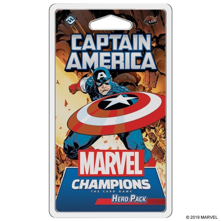 MARVEL CHAMPIONS LCG: Captain America - EN