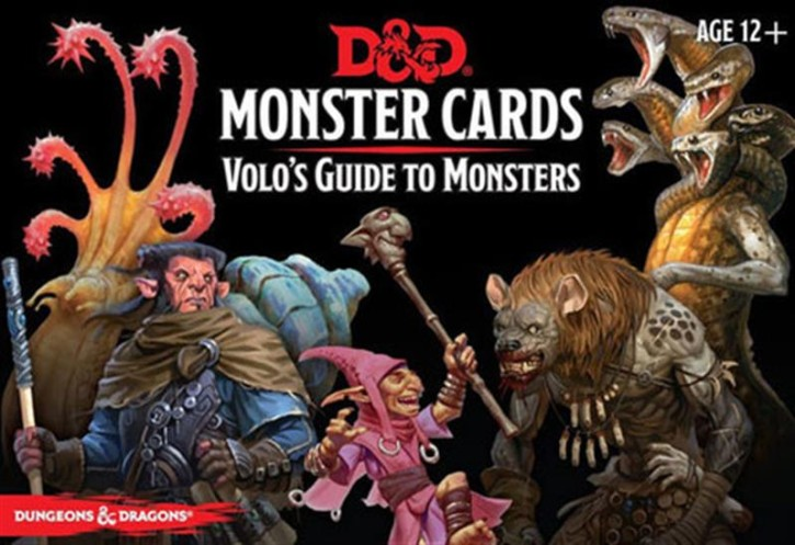 D&D: Monster Cards: Volos Guide to Monsters (81) - EN