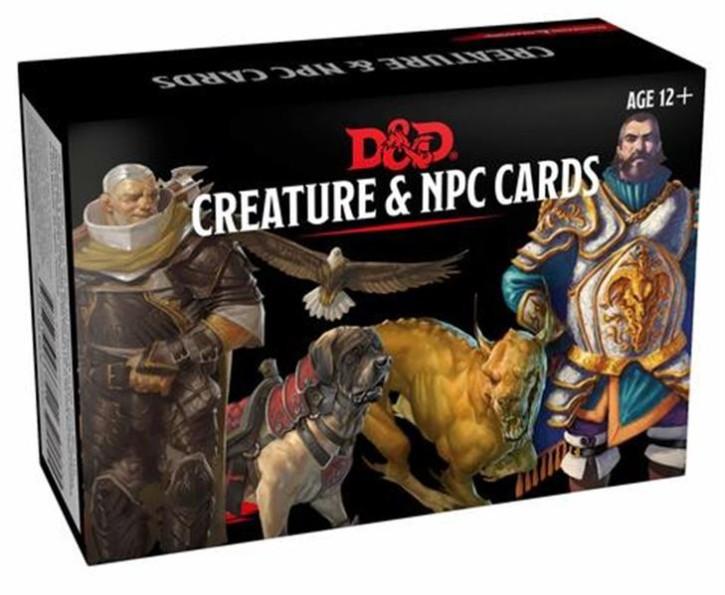 D&D: Monster Cards: NPCs & Creatures (182) - EN
