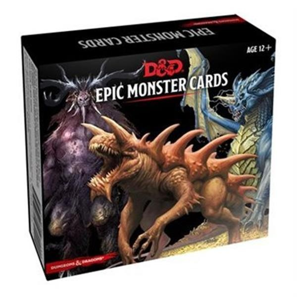 D&D: Monster Cards: Epic Monsters (77) - EN