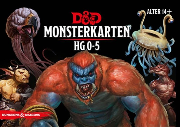 D&D: Monster Deck 0-5 - DE