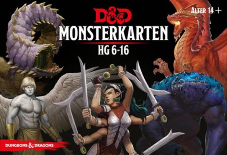 D&D: Monster Deck 6-16 - DE