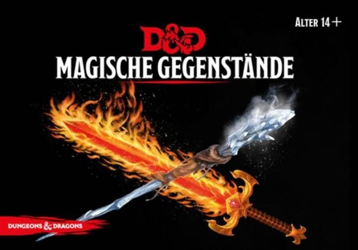 D&D: Magische Gegenstände Deck - DE