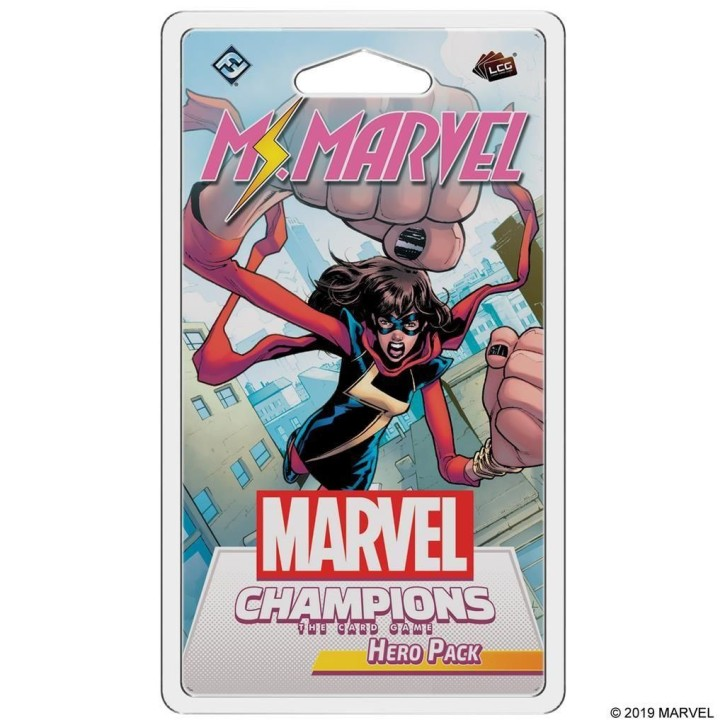 MARVEL CHAMPIONS LCG: Ms. Marvel Hero Pack - EN