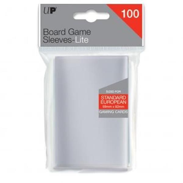 ULTRAPRO: Lite Standard European Board Game Sleeves (100)