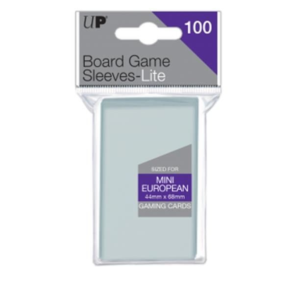 ULTRAPRO: Lite Mini European Board Game Sleeves (100)