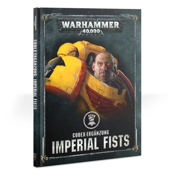 W40K: Codex: Imperial Fists - DE