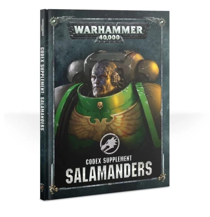 W40K: Codex: Salamanders - EN