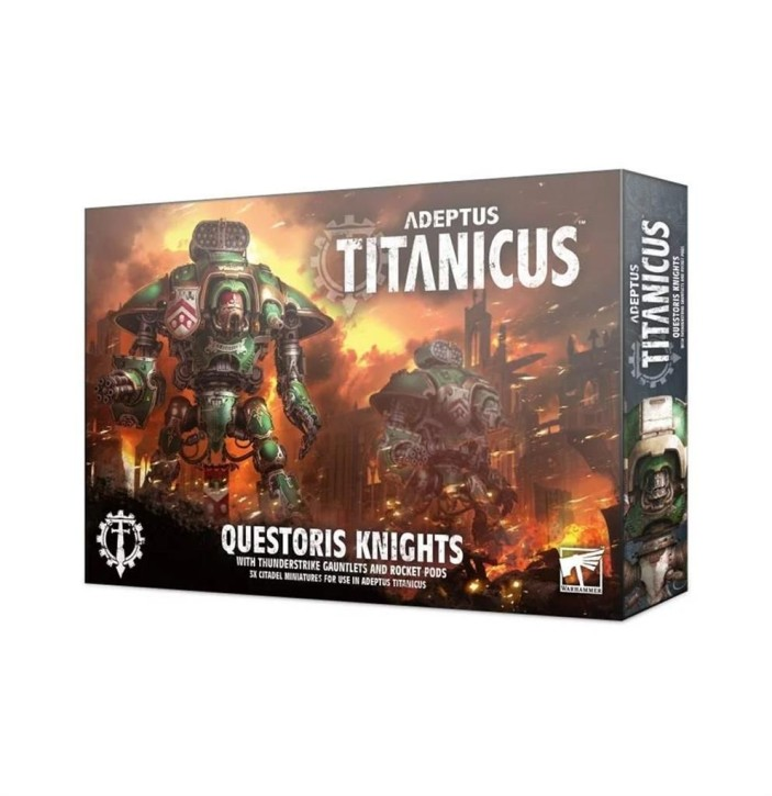 W40K: ADEPTUS TITANICUS: Questoris Knights