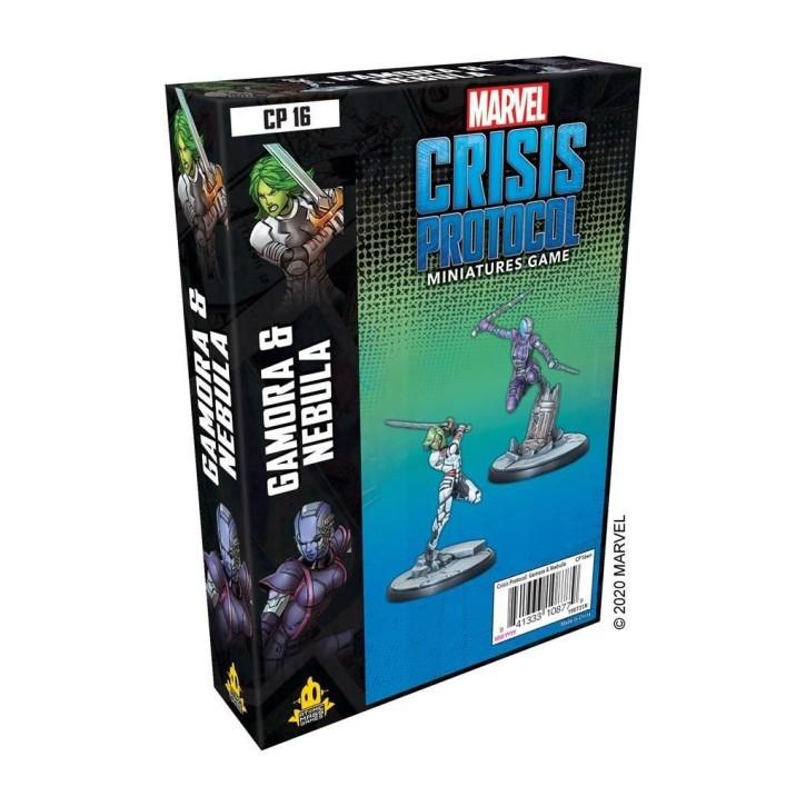 MARVEL CRISIS: Gamora and Nebula - EN