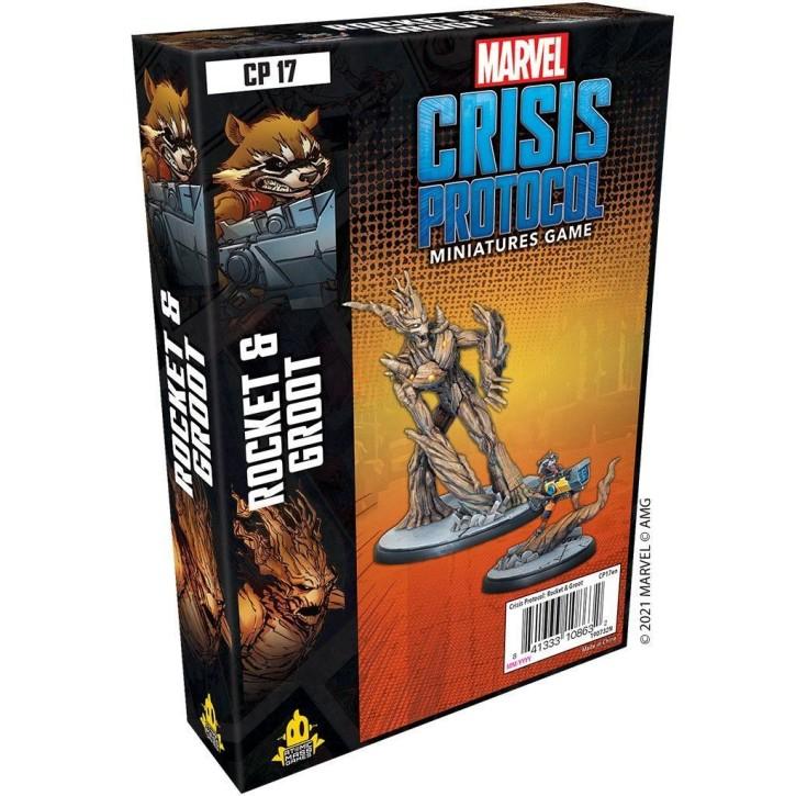 MARVEL CRISIS: Rocket and Groot - EN