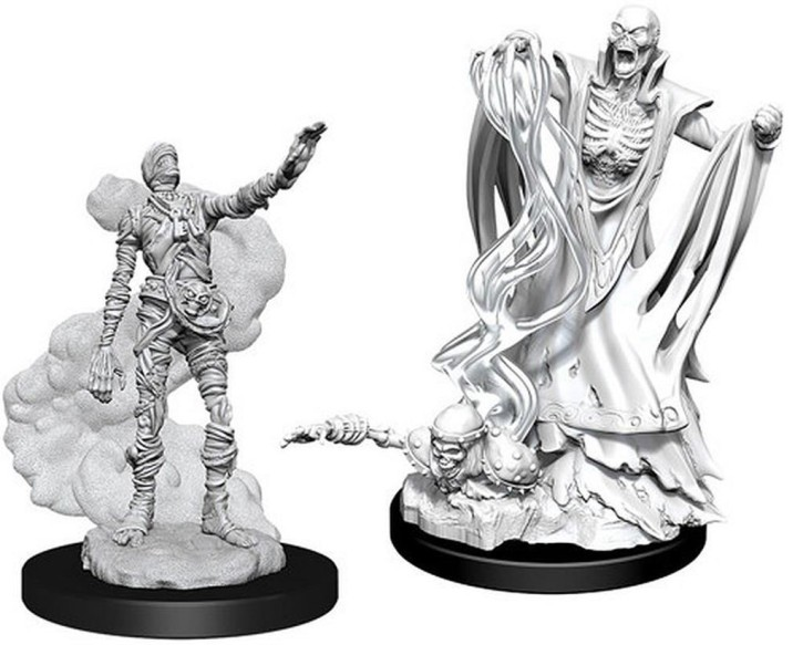 D&D MARVELOUS MINIS: Lich & Mummy Lord