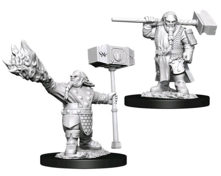 D&D MARVELOUS MINIS: Male Dwarf Cleric