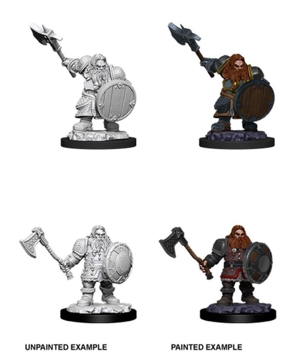 D&D MARVELOUS MINIS: Male Dwarf Fighter