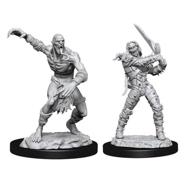 D&D MARVELOUS MINIS: Wight & Ghast