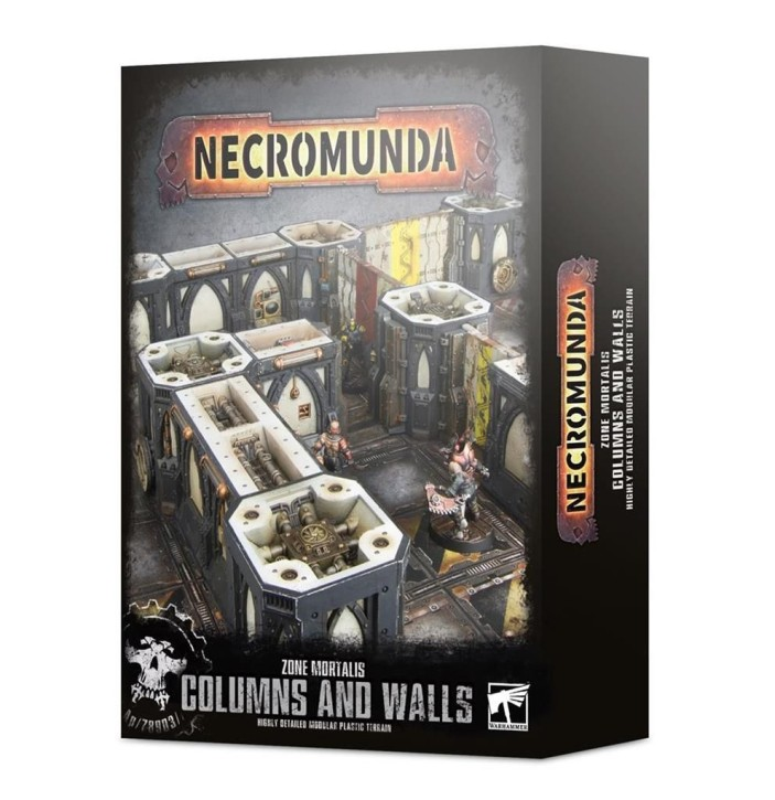 NECROMUNDA: Zone Mortalis: Columns & Walls