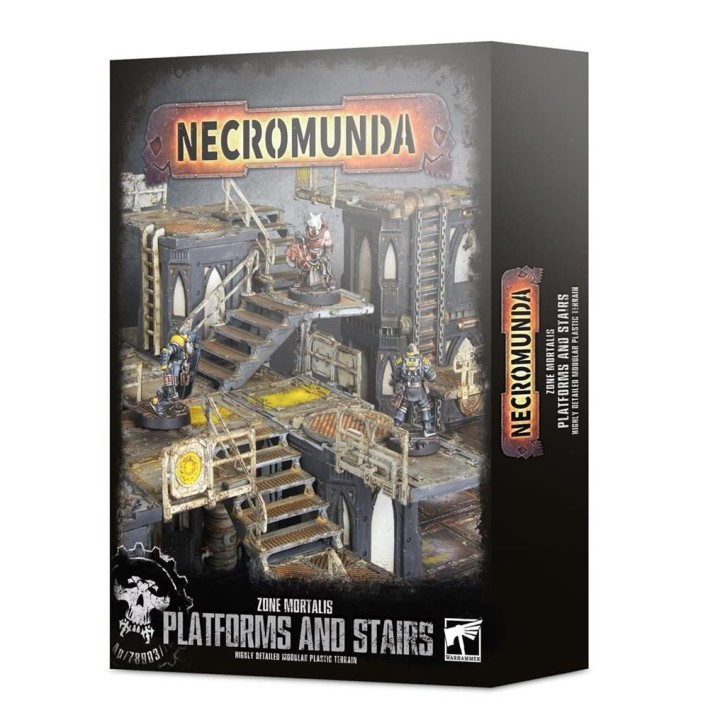 NECROMUNDA: Zone Mortalis: Platforms & Stairs