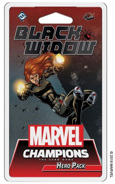 MARVEL CHAMPIONS LCG: Black Widow - EN